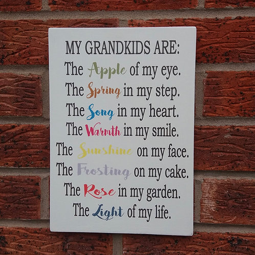 My grandkids are plaque