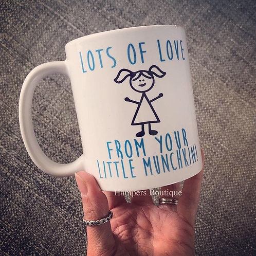Lots of love from your little munchkin mug