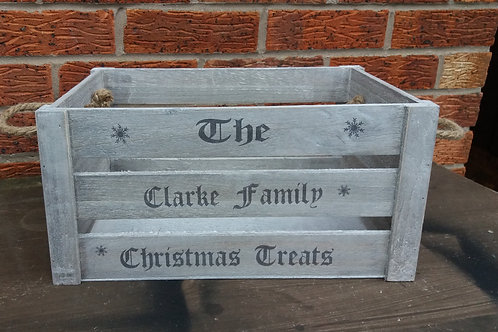 Christmas crate
