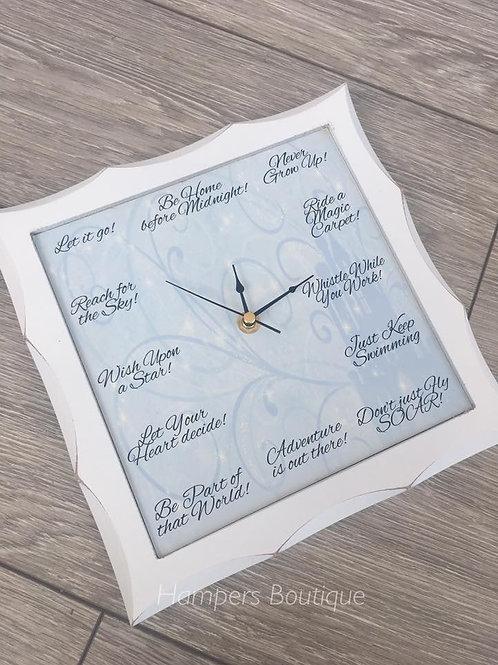Disney inspired clock