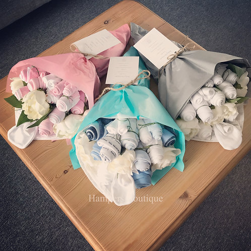 Handheld baby bouquet