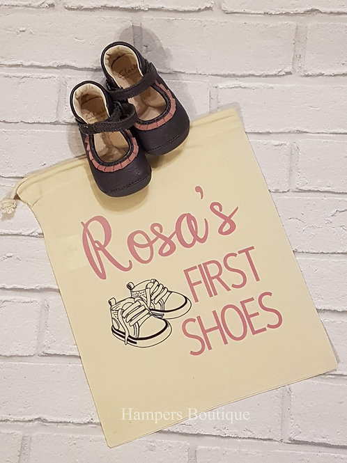 First shoes bag