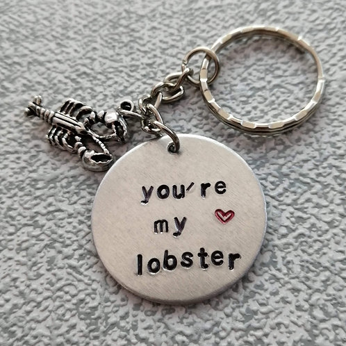 You're my lobster keyring
