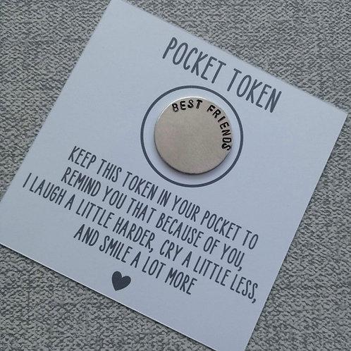 Best friend pocket token