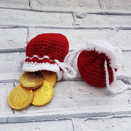 Crochet treat bag