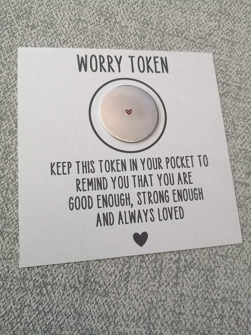 Worry token