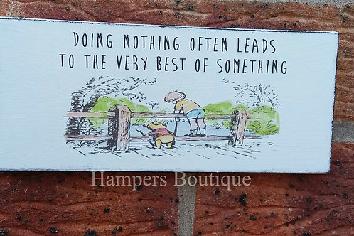Doing nothing often leads plaque