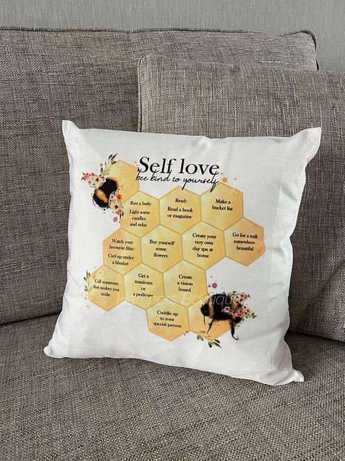 Self love cushion