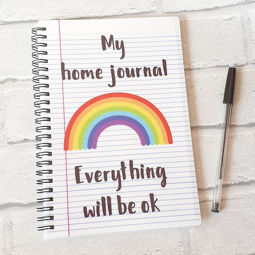 My home journal everything will be ok