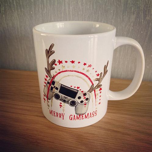 PlayStation Christmas mug