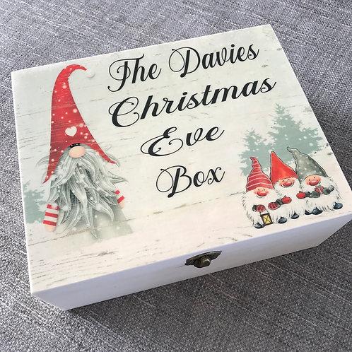 Gnome Christmas Eve box