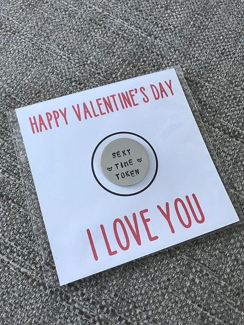 Valentine's Day tokens