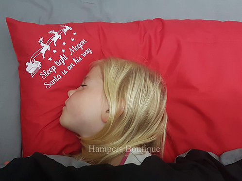 Personalised Christmas pillow case
