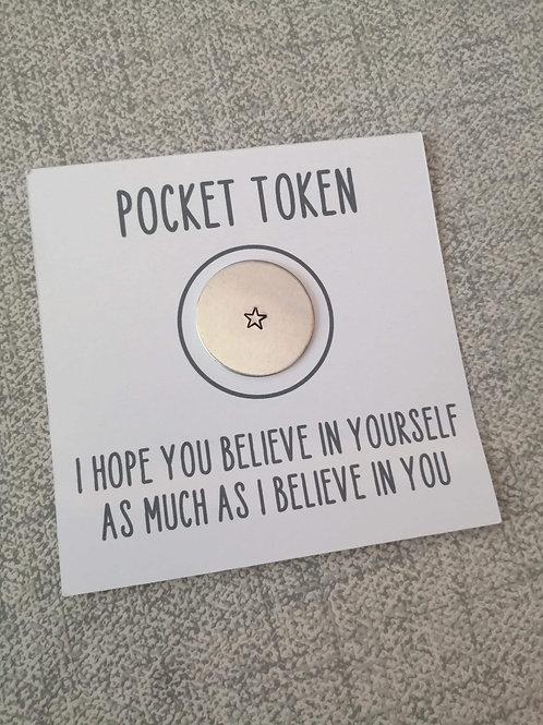 Believe pocket token