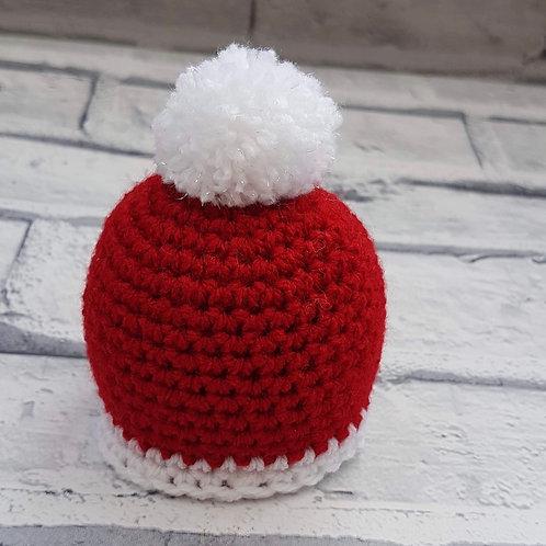 Santa's hat chocolate orange cozy