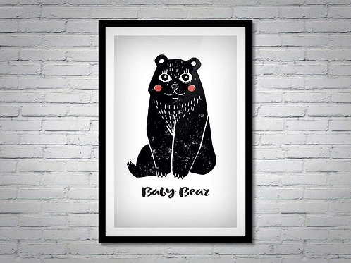 Baby bear print