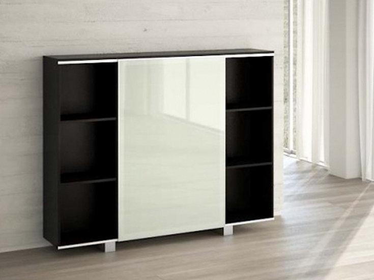 Bookcase - Sliding Glass Door