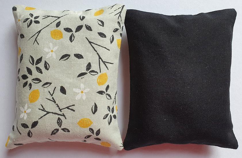 Lavender bag set -grey floral