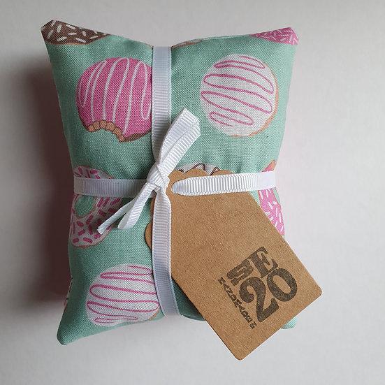 Lavender bag set  - mint doughnuts