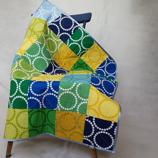 Baby quilt/playmat- rings