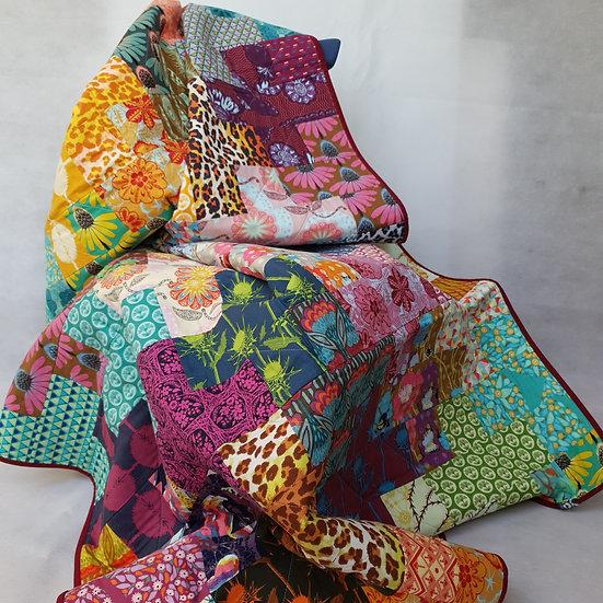 Single quilt - Anna Maria Horner fabrics