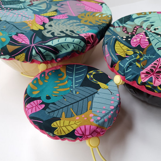 Fabric bowl cover set