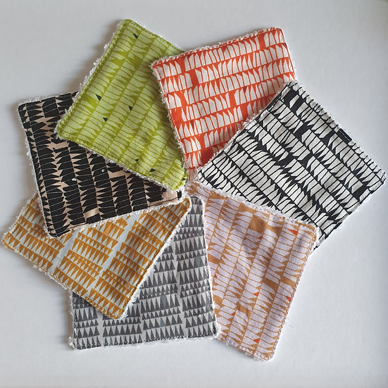 Deluxe reusable wipes - jagged