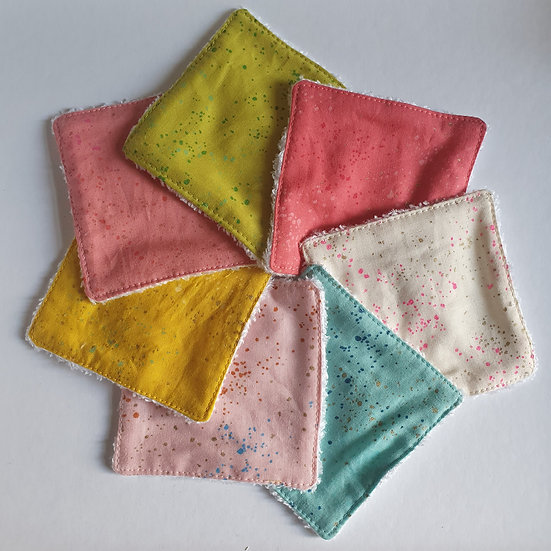 Deluxe reusable wipes - speckled