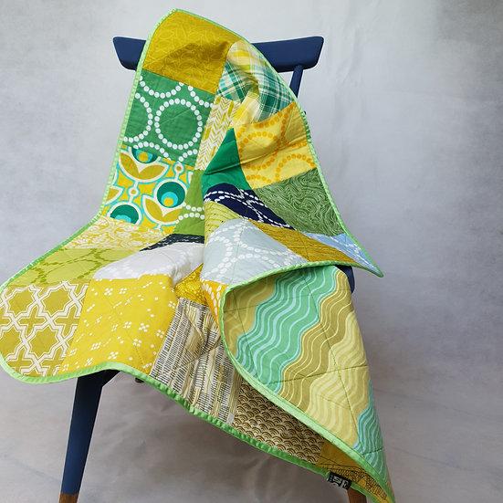 Baby quilt/playmat - citrus