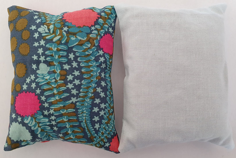 Lavender bag set - seaweed and pale blue