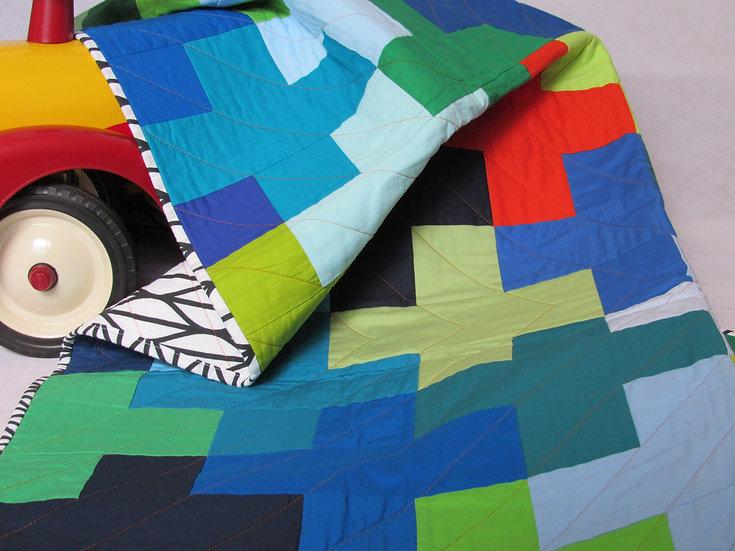 Modern Plus quilt