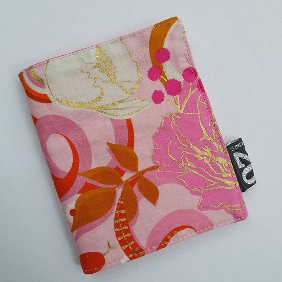 Needle book - pink snake