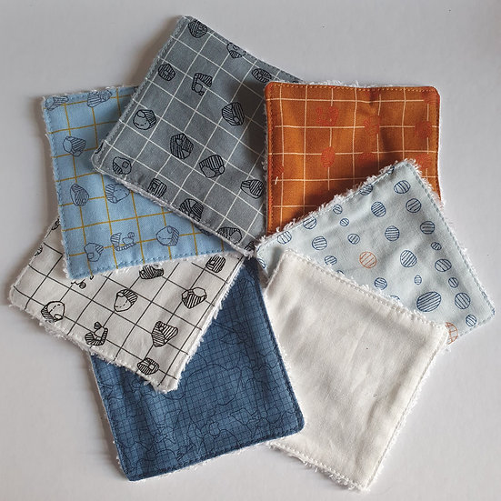 Deluxe reusable wipes - grid
