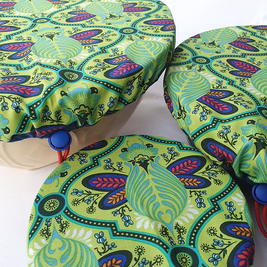 Fabric bowl cover set - bugs