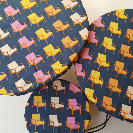 Fabric bowl cover set - chairs