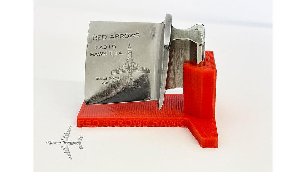 Red Arrows Hawk XX319 Engine Blade
