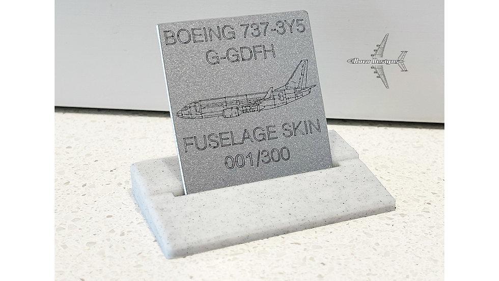 Jet2 Boeing 737-300 G-GDFH Skin Tag