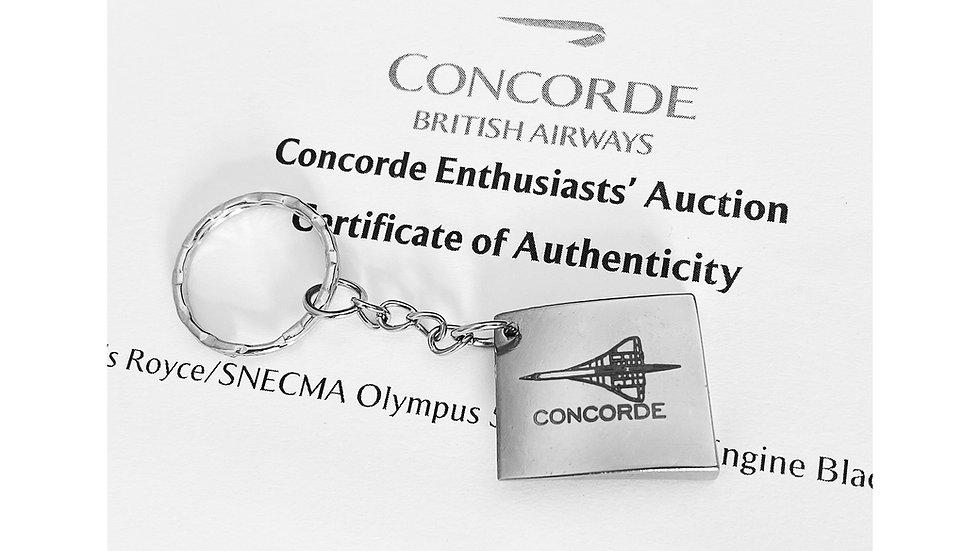 British Airways Concorde Olympus Engine Blade Tag