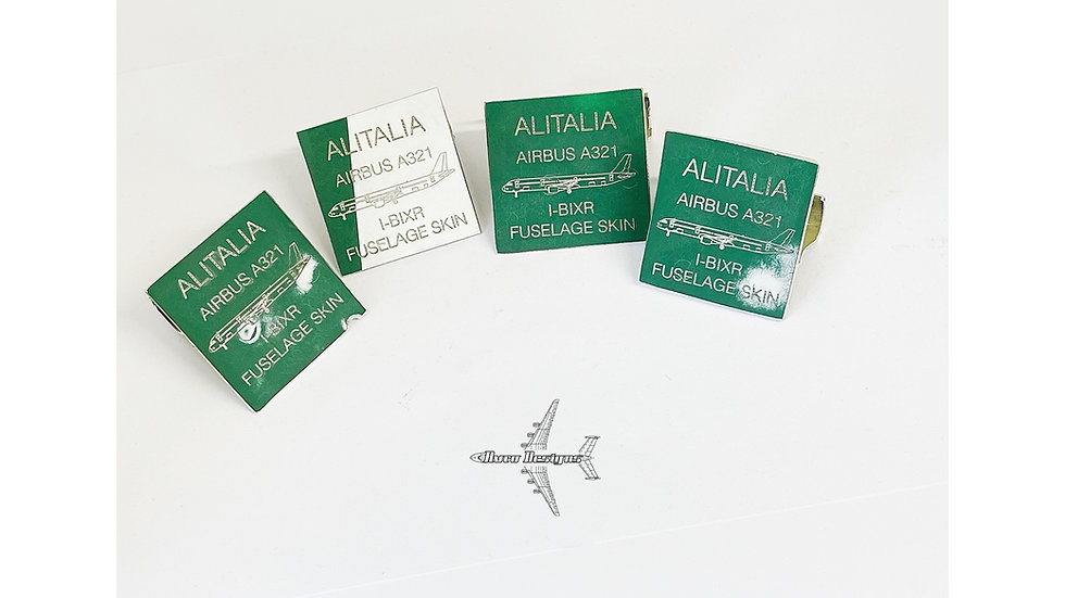 Alitalia Airbus A321 Fuselage Skin Structure Cut