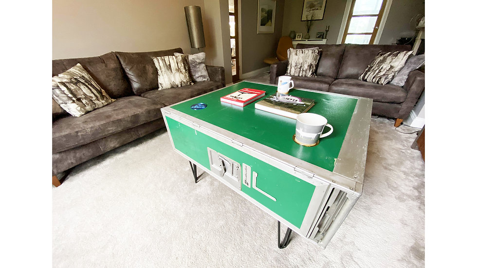Airline Bar Cart Coffee Table