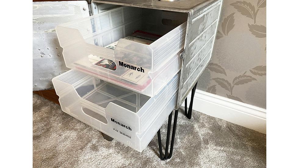 Atlas Box Storage Unit - Monarch Airlines Draws