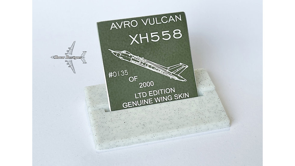 RAF Avro Vulcan XH558 Skin Tags