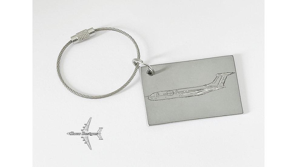 RAF VC-10 Fuselage Skin Key Tag