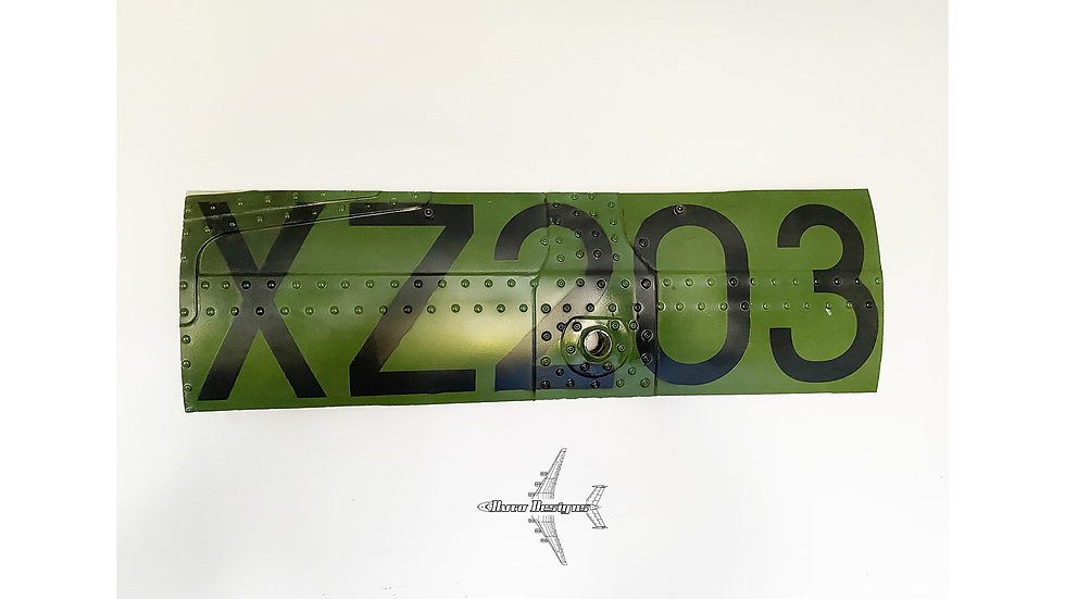 Army Air Corps Lynx Helicopter Fuselage Wall Hang XZ203