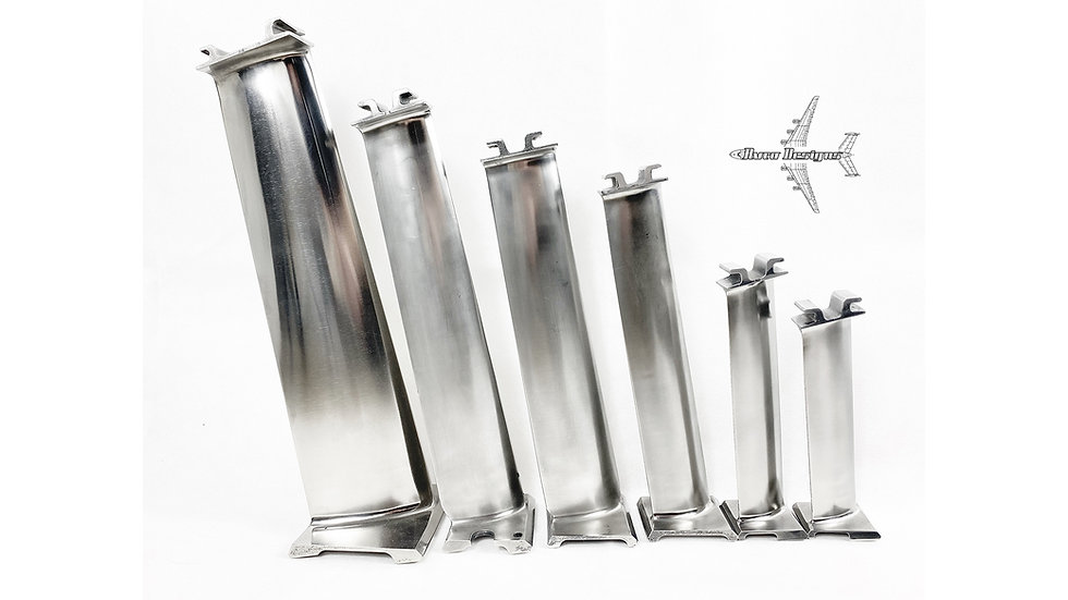 British Airways Concorde Blade Set - Olympus 593