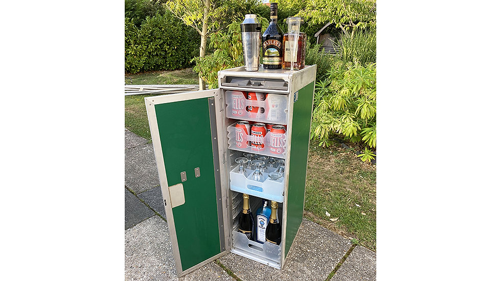 Airline Bar Cart Drinks Cabinet