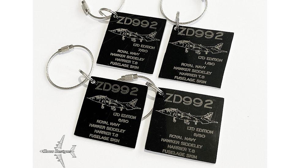 Navy Harrier T.8 Fuselage Skin Tags ZD992