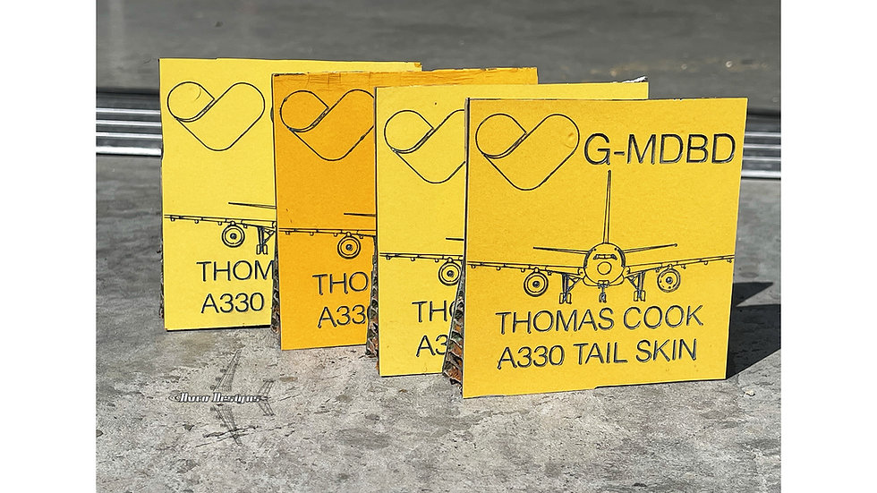 Thomas Cook A330-200 G-MDBD Tail Skin Squares