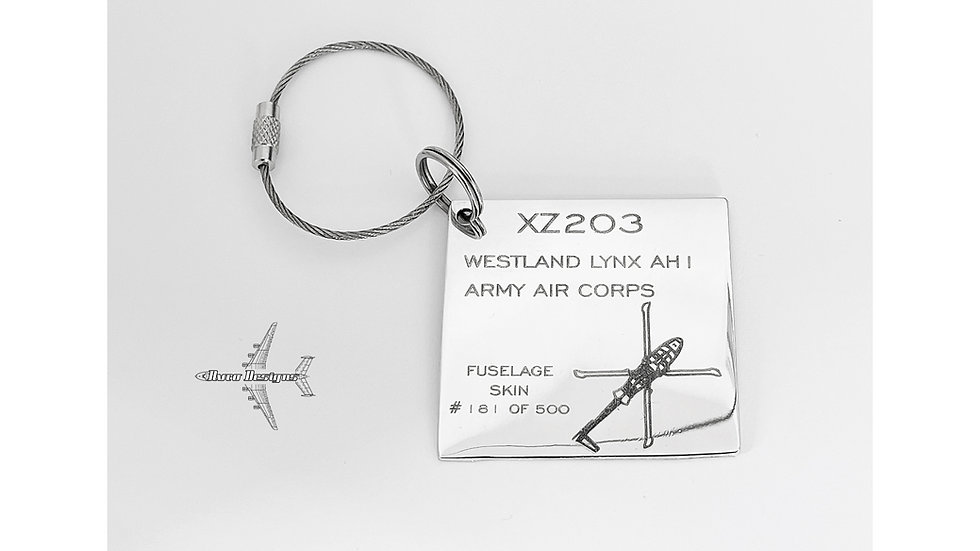Lynx Helicopter XZ203 Skin Tags