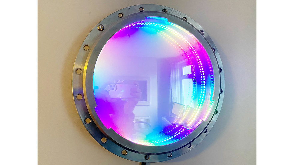 Boeing 737 Engine Spacer Infinity Mirror